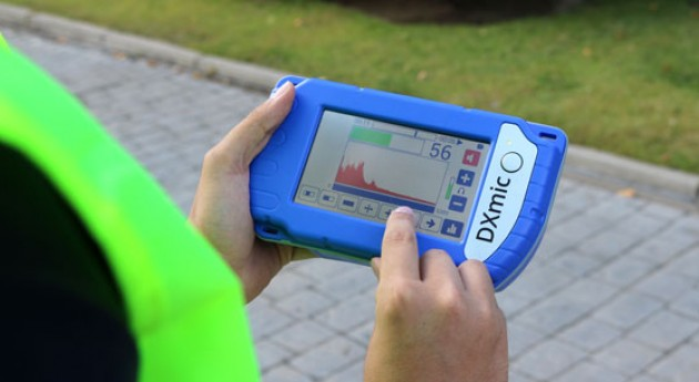 Nuevo geófono DXmic® localización fugas agua