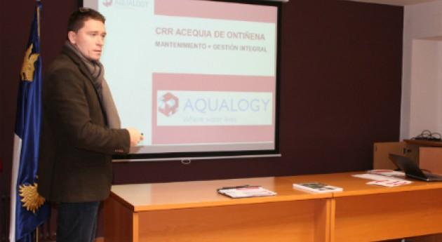 Aqualogy realizará gestión integral Comunidad Regantes Acequia Ontiñena