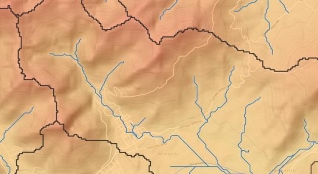 ¿Cómo delimitar cuencas y ríos solo 3 pasos SAGA GIS?
