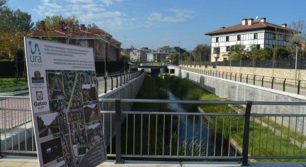 Visita obras defensa inundaciones cuenca Gobela acometidas URA