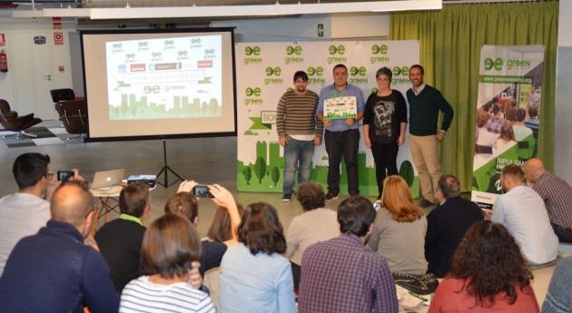herramienta digital, basada datos recogidos drones, ganadora Green Weekend Coruña