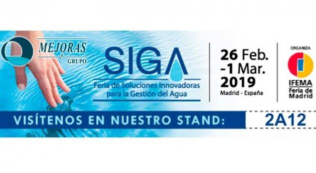SIGA 2019. Feria soluciones innovadoras gestión agua