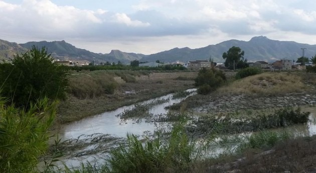 Río Guadalentín.