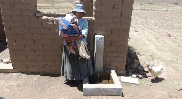 proyecto éxito abastecimiento y saneamiento cooperación internacional Bolivia