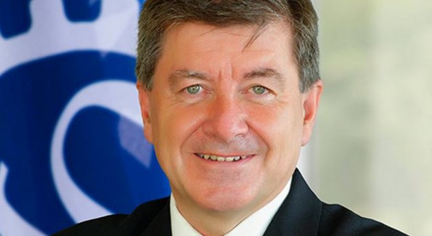 El director general de la OIT, Guy Ryder (Wikipedia).