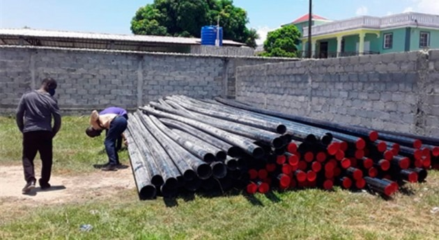 Comienzan obras mejora sistema agua Cabo Haitiano