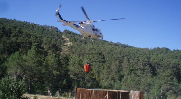 Campaña vigilancia incendios forestales montes gestionados CHE