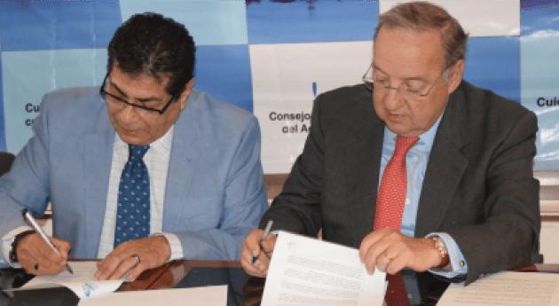 Celebran Convenio Colaboración ANEAS y Consejo Consultivo Agua