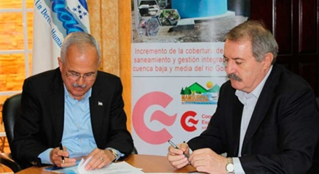 Convenios fortalecer gestión municipal agua Honduras