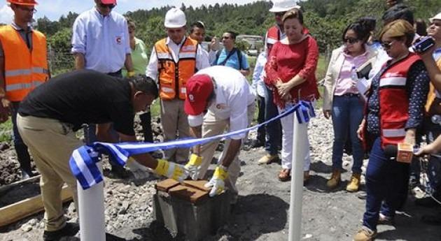 45.000 habitantes Santa Rosa Copán Honduras mejoran saneamiento gracias España