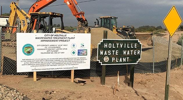 Finalizadas obras rehabilitación y modernización PTAR Holtville California