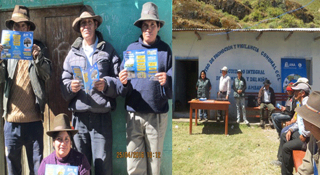 ANA continúa proceso formalización usuarios agua cuencas Barranca