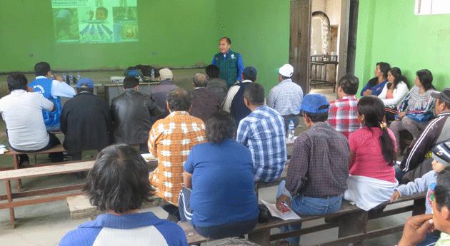 Autoridad Nacional Agua capacita usuarios agrarios Barranca