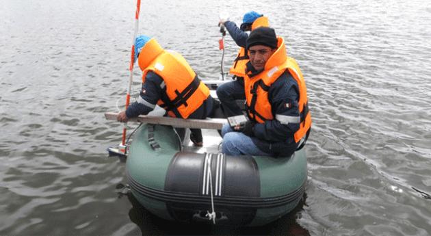 ANA realiza estudios batimetría lagunas y presa cuenca Mantaro