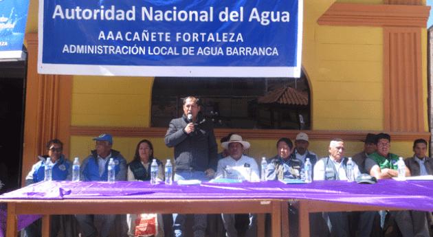 Más 2 mil agricultores beneficiados entrega licencias uso agua Ancash