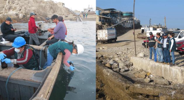 Autoridad Nacional Agua verificará presencia hidrocarburos aguas Atico
