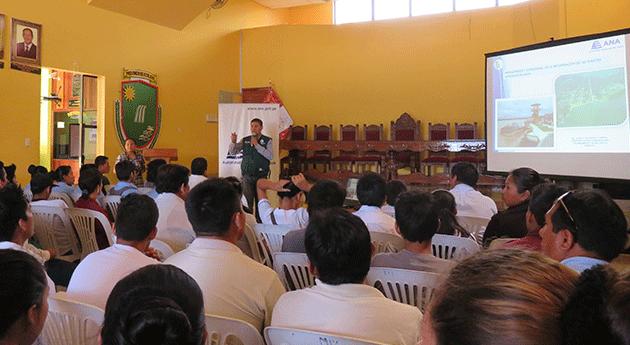 ANA difunde resultados tercer monitoreo calidad agua cuenca río Ucayali