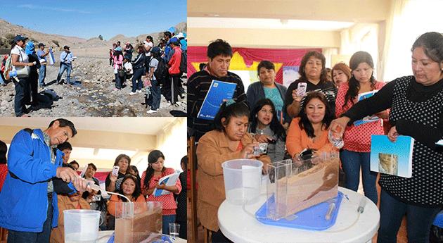 Docentes Tacna inician formación escolares cultura agua Perú