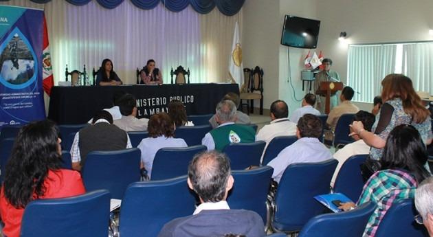 Perú: ANA y Ministerio Público unidos gestión recurso hídrico