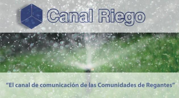 Agua y comunicación se unen Canal Riego