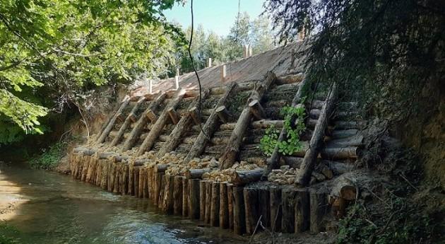 URA restaura ribera erosionada río Jugalez Payueta-Peñacerrada, Álava