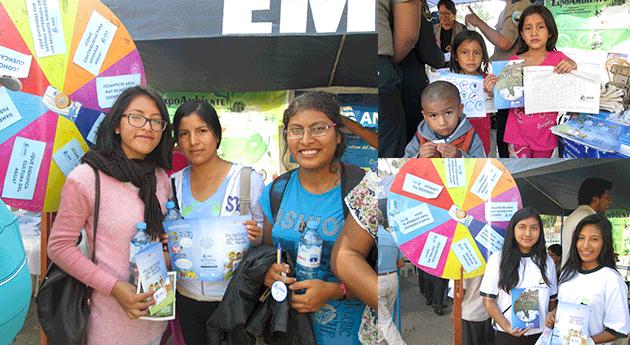 Cientos iqueños fueron sensibilizados durante ExpoAmbiente