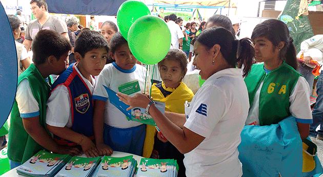 ANA participa feria Día Mundial Medio Ambiente y Océanos Paita