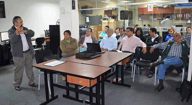 Huaral ANA realiza taller Plan Nacional Recursos Hídricos