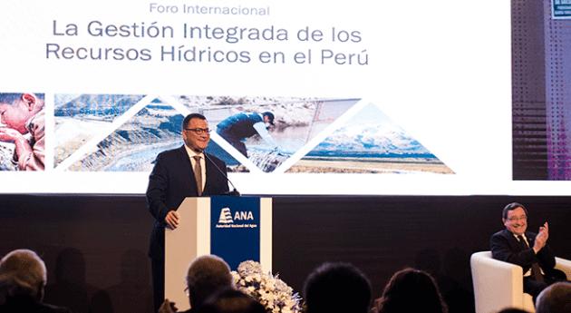 Ministro Agricultura y Riego afirma que gran revolución agro es reforma agua