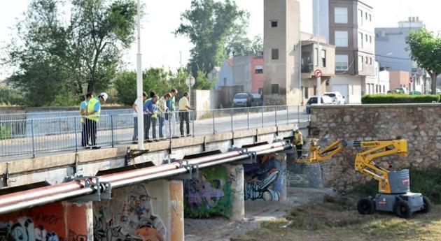Ayuntamiento Borriana y FACSA mejoran canalizaciones Puente Mota