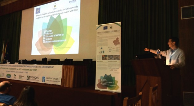 IPROMA presenta proyecto LIFE STO3RE congreso europeo Pesticides 2016