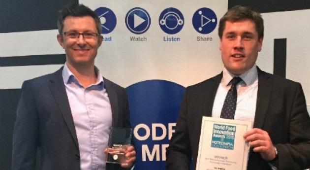 tecnología Ice Pigging, premiada Reino Unido como mejor Innovación sector alimentario