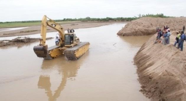 canalización y limpieza río Pilcomayo concluirá diciembre
