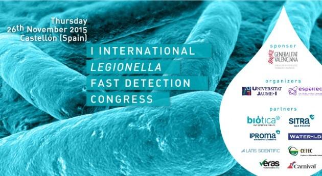 Castellón acoge I Congreso Internacional Detección Rápida Legionella