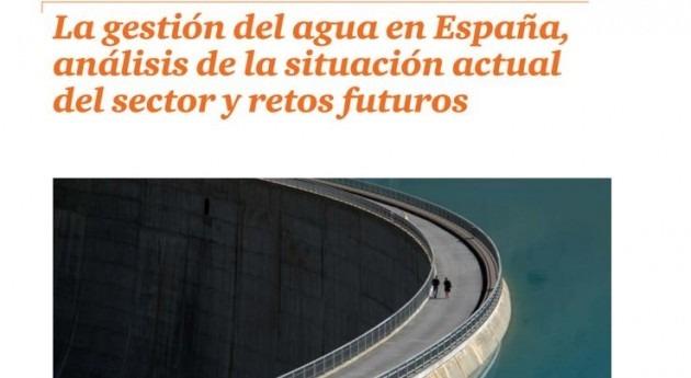 modelo gestión agua España. Análisis informe PwC Acciona