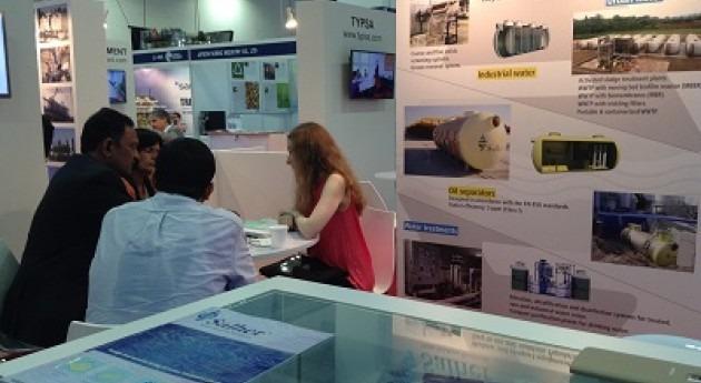 Salher confima éxito feria Water Expo City Solutions Singapore durante SIWW