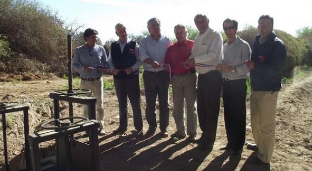 nueva entubación Canales Chamonate y Toledo permitirá aumentar hectáreas riego Chile