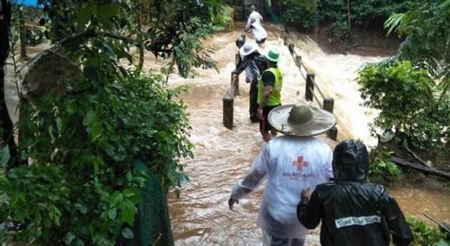 España contribuye 70.000 € crisis humanitaria India inundaciones