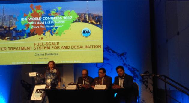 ANEAS participa Congreso Mundial Desalinización y Reúso 2017