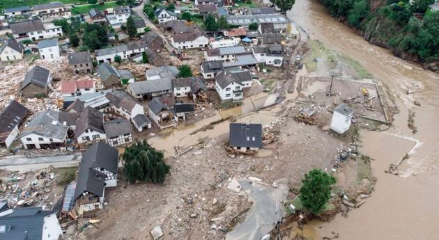 AEMET relaciona inundaciones Alemania cambio climático