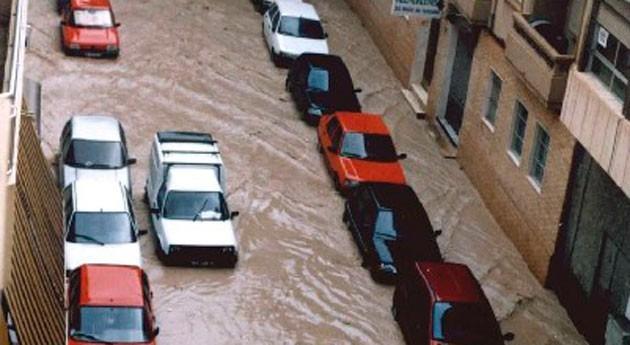 Valencia y Alicante, aviso rojo lluvias