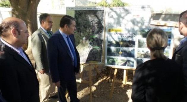 """Antonio Sanz: """" Rambla Baza blinda Guadix frente inundaciones"""""""