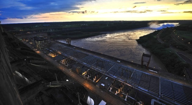 hidroeléctrica Itaipú se convierte mayor productora energía renovable 2015