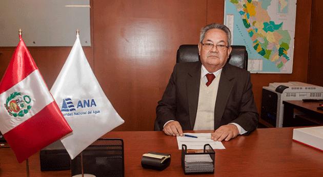 Abelardo Torre asume cargo jefe Autoridad Nacional Agua