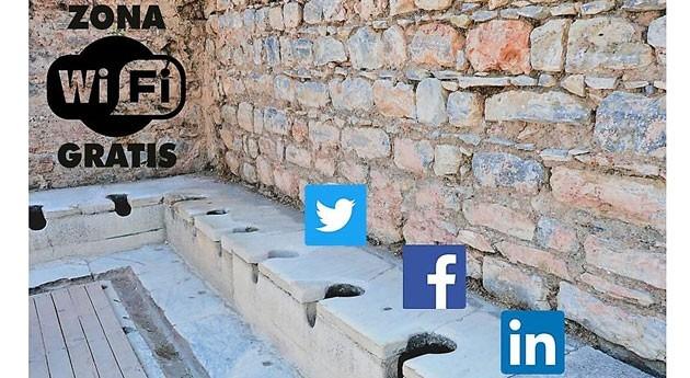 Aguas residuales, romanos y redes sociales