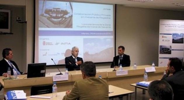 colaboración público-privada materia regadíos centra jornada organizada INTIA