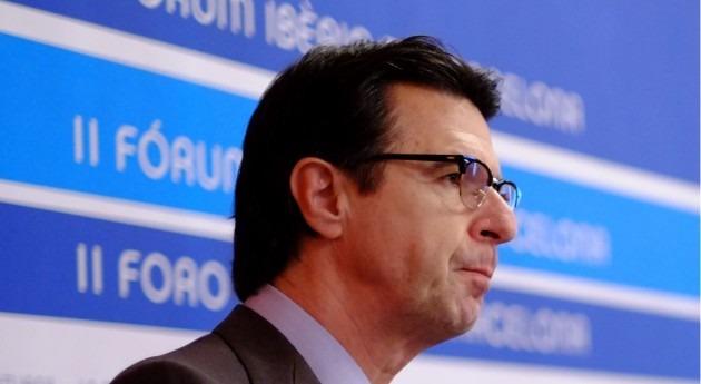 El ministro de industria, energía y turismo de España, José Manuel Soria
