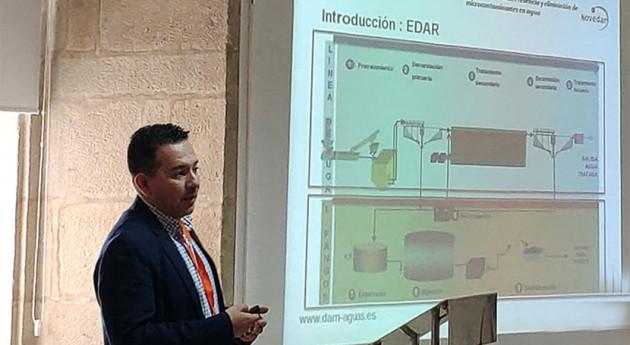 DAM presenta estudio degradación contaminantes emergentes EDAR