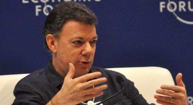 presidente Santos declara alerta roja Colombia sequía causada ' Niño'