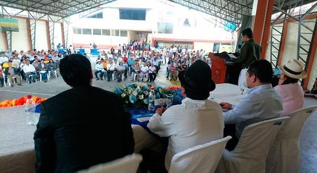 marcha encuentros Juntas Agua Catamayo, Ecuador